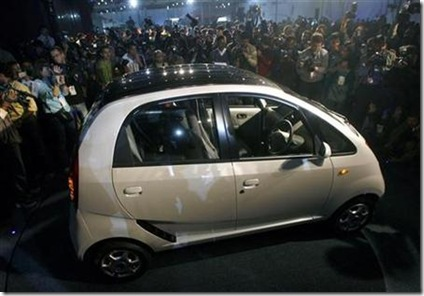 world's cheapest car Tata Nano photo