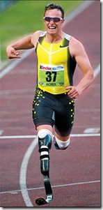 south african paralympic athlete oscar pistorius picture