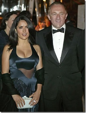 Salma Hayek And Francois-Henri Pinault picture