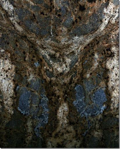 Jesus on the Cross in Granite Slab picture