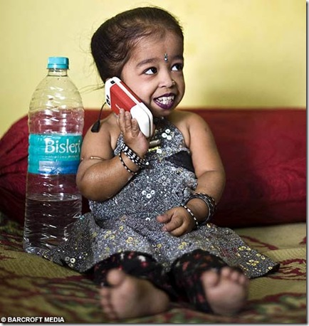 world smallest girl Jyoti Amge  photo picture1