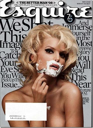jessica simpson esquire magazine