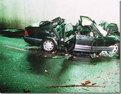princess diana crash photos. images of princess diana crash