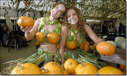 pumpkin bra