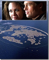 Brad Pitt and Angelina Jolie Buy Dubai's Ethiopia-shaped Island