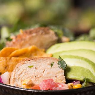 Rainbow Grilled Chicken Salad.