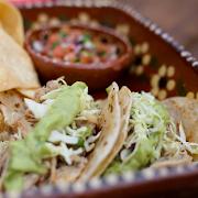 Carnitas Tacos ( 2 servings)