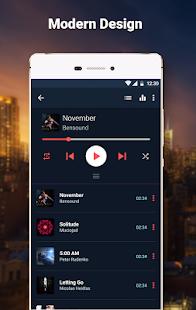 Go Music Player - náhled