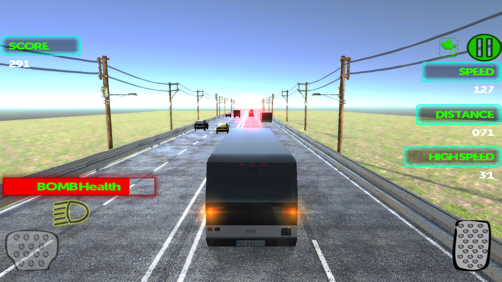 Crazy Speed Racer- screenshot