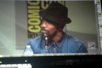 Photo: Saturday - Django Unchained panel; star Jaime Foxx