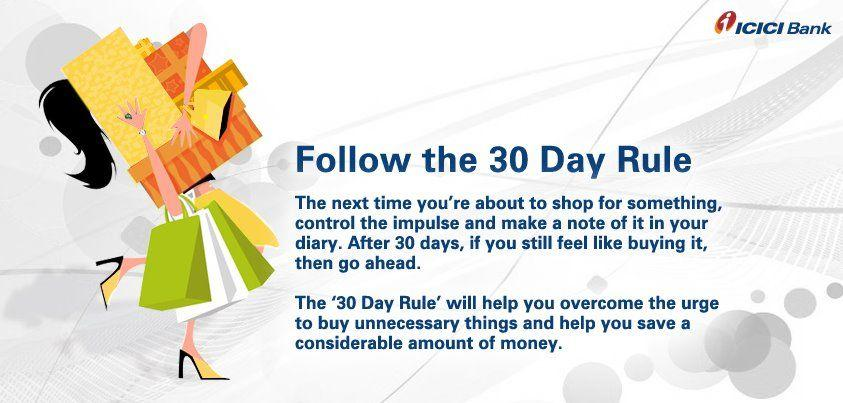 30 dayy rule