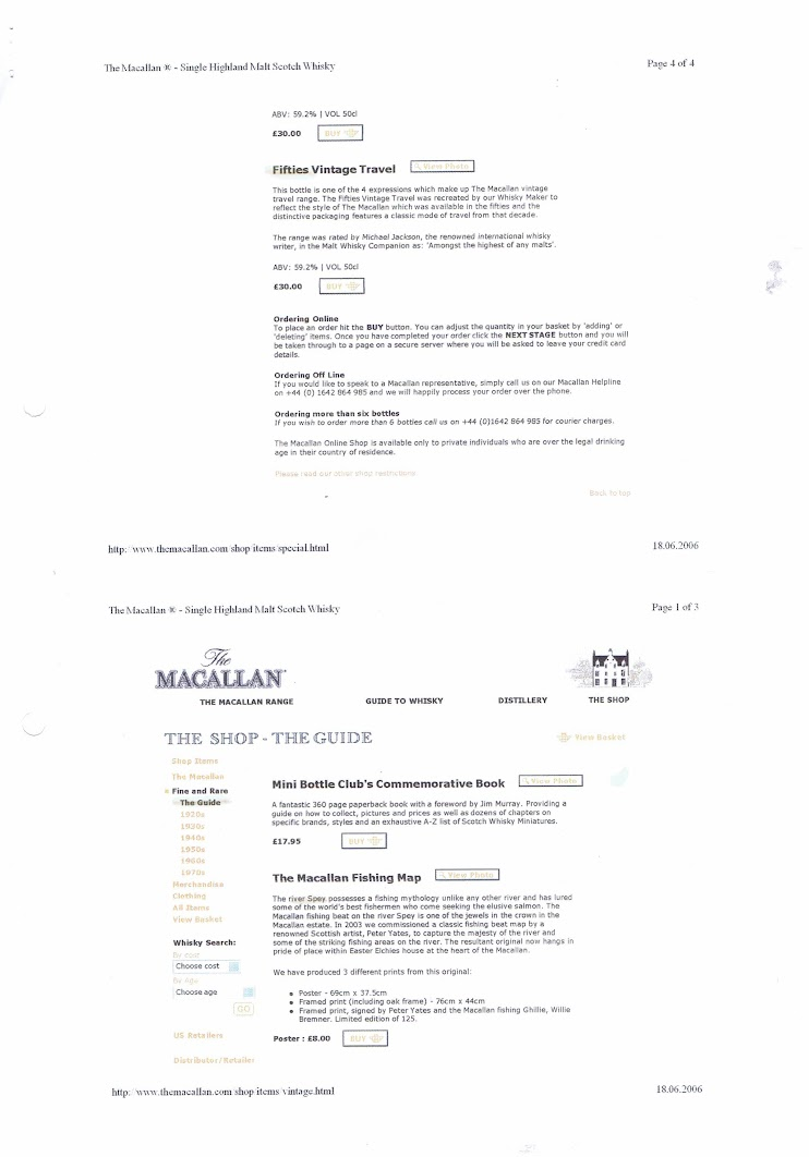 Macallan Webshop 2006 - Page 7