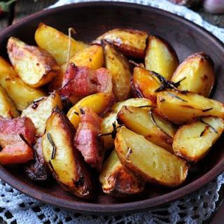 Easy Bacon Ranch Potatoes