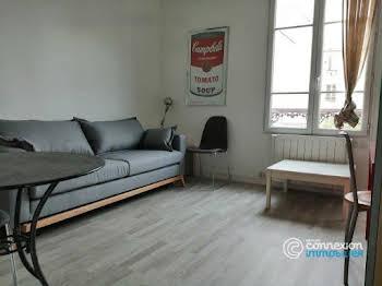 Studio meublé 18,5 m2