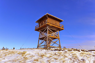 Photo: Granite Butte Lookout 20-30 miles NW of Helena