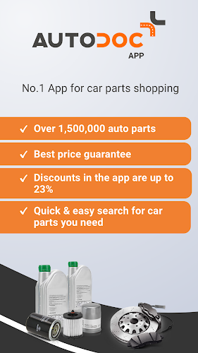 Autodoc — High Quality Auto Parts at Low Prices Android App Screenshot