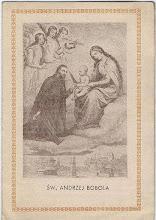 Photo: Obrazek składany, 4 strony. Zawiera życiorys i krótką modlitwę. Wyd. Druk. M. Starzyński i S-ka, brak daty.