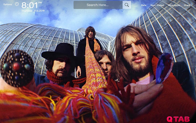 Pink Floyd Wallpapers New Tab Theme