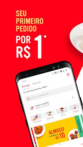 iFood - Delivery de Comida e Mercado screenshot