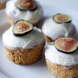 Fig and Almond Cupcakes