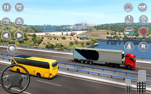 Euro Truck Transport Simulator 2: Cargo Truck Game screenshots 2