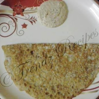 Instant Rava Dosa Recipe South Indian Style