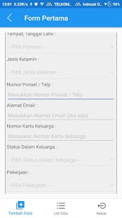 Aplikasi Penduduk Non Permanen Kota Surabaya - náhled