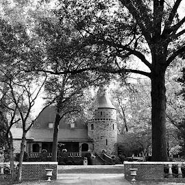 John James Audubon Museum by Lorna Littrell - Black & White Buildings & Architecture ( historic, audubon, black and white, travel, architecture )