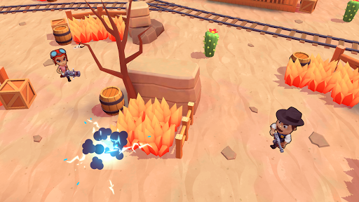 Télécharger TopGuns.io - Guns Battle royale 3D Action mod apk screenshots 1