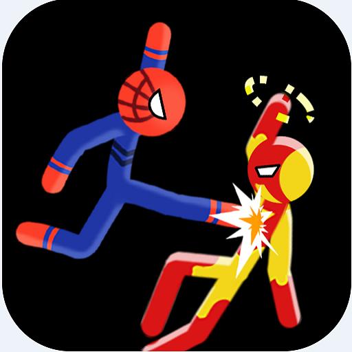 Supreme Stickman Fight Battle - Two player game Icon