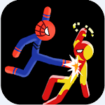 Supreme Stickman Fight Battle - Two player game 2.11