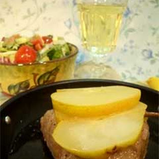 Italian Tuna Steak with Pears