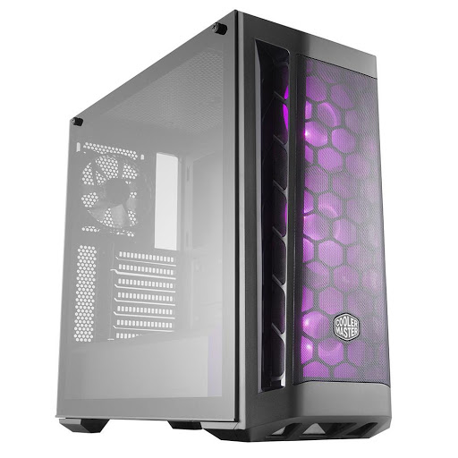 Thùng máy/ Case Cooler Master MasterBox MB511 RGB Tempered Glass