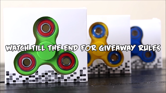 Fidget Spinner Videos- screenshot thumbnail
