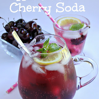 Homemade Cherry Soda.