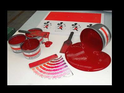 Rosso: un colore del mio lavoro di romango
