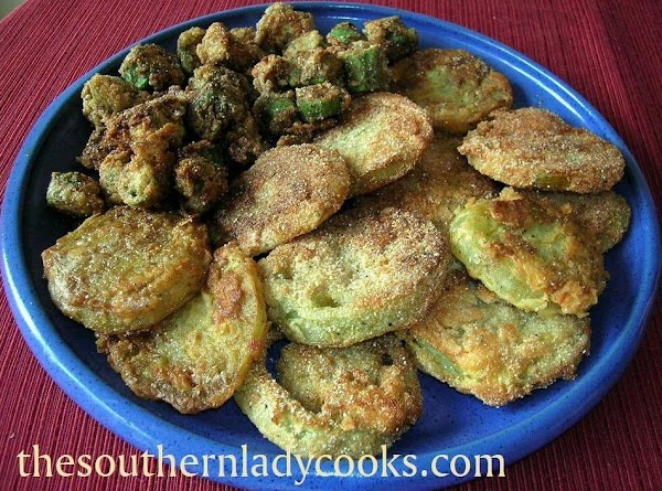 Fried Green Tomatoes And Fried Okra Recipe