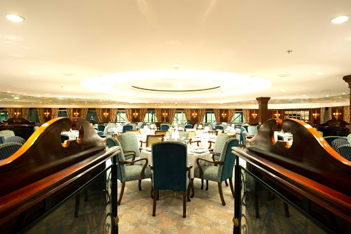 Adonia-Pacific-Resaurant.jpg - Join your fellow passengers in the Pacific Restaurant, the main dining room on Adonia from Fathom.