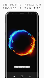 🔝 AMOLED 4K Black Wallpapers , Dark Backgrounds APK screenshot thumbnail 5