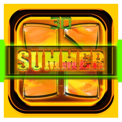 Next Launcher 3D: Summer Theme