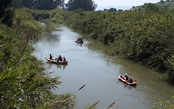 Photo: Boating on the Jordan River