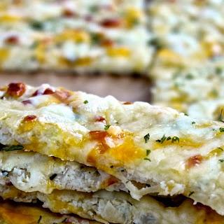 Cauliflower Cheesy Bread.