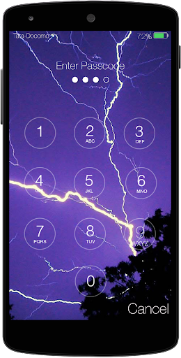 Electric Keypad Lockscreen