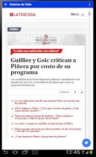 Noticias de Chile - náhled