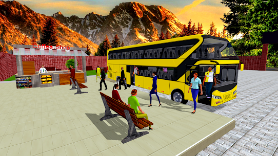 Coach Bus Simulator Driving 2: Bus Games 2020  Apk Download For Android and Iphone 5