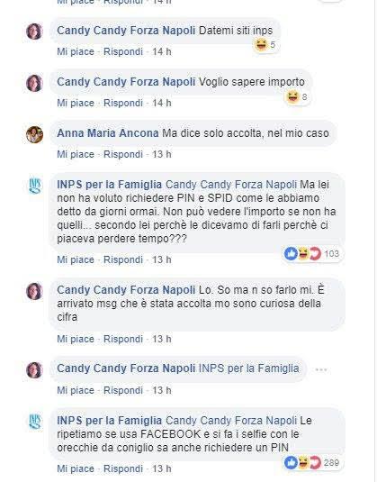 Le risposte da bullo del social manager di Inps per la famiglia