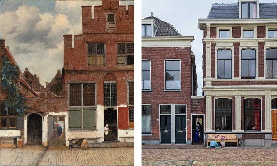 vermeer's street