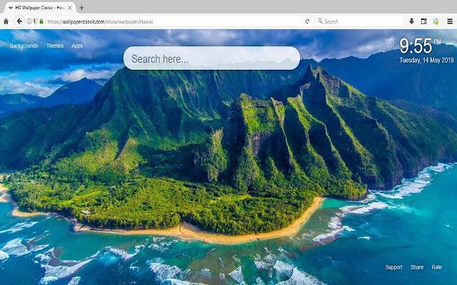 Hawaii Wallpaper HD Tema Pantai