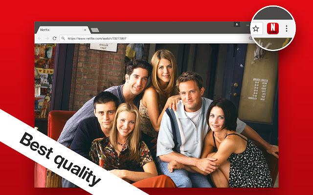 Netflix - higher quality