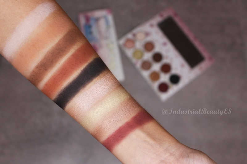 the eyes cream shop swatches